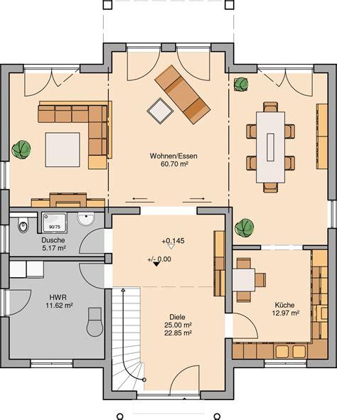Moderne Haus Grundrisse by Grundriss H 228 User