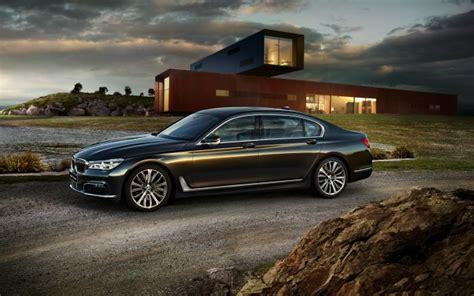 Wallpaper Bmw 7 Series, Luxury, Cars, Side View, Black
