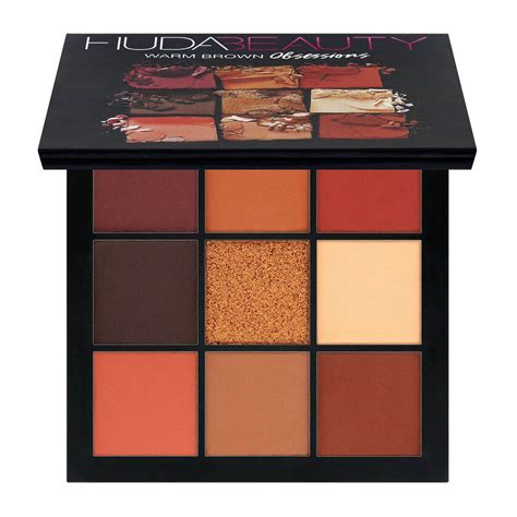 huda beauty warm brown obsessions palette kaufen