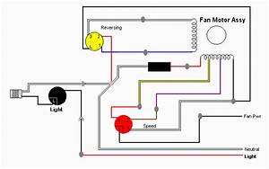 Wiring Diagram For Ceiling Fan Speed Switch