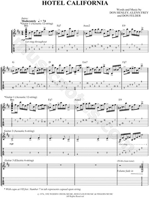 Ammco bus : Hotel california solo tab songsterr