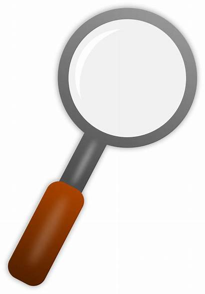 Magnifying Glass Transparent Clipart Background Clip Illustration
