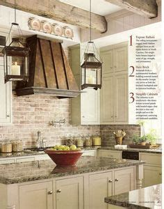 top kitchen cabinets brick wall in kitchen with white cabinets glass cabinet 2859