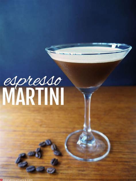 martini recipes espresso martini recipe dishmaps