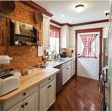 50 Trendy And Timeless Kitchens With Beautiful Brick Walls