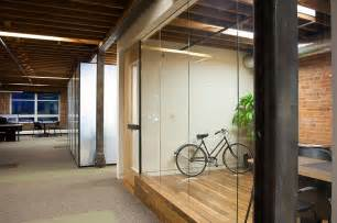 Office Wall with Glass