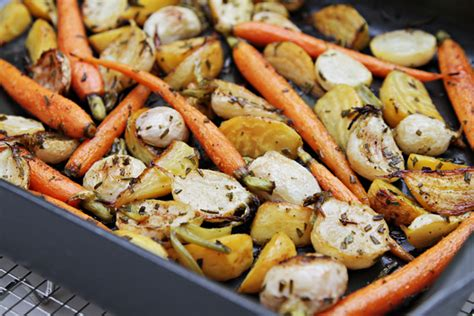 Rosemaryroasted Root Vegetables Agrodolce By Viviane