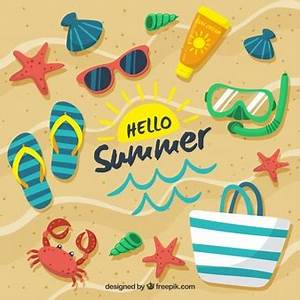 Summer vectors 45 400 free files in AI EPS format