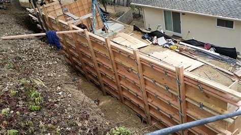 how to form a concrete retaining wall concrete retaining wall pleasanton angle 1 all access constructionall access construction
