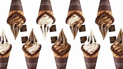 Soft Serve Godiva Cream Ice Malaysia Premium