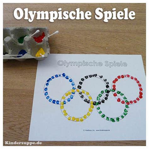 olympische ringe schulung der feinmotorik kindersuppe abo