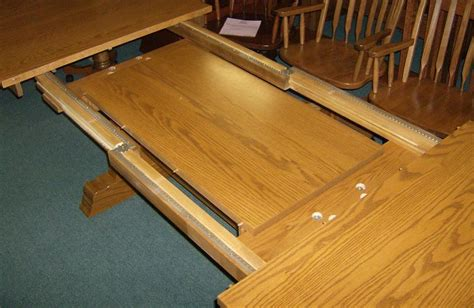 amish dining table with self storing leaves jake 39 s amish furniture self storing leaves in extra