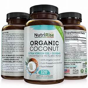 Virgin Coconut Oil Capsules Benefits