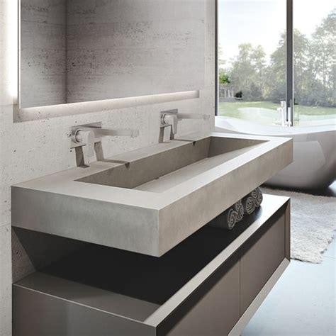 "Trueform 60"" Ada Floating Concrete Bathroom Sink Custom"