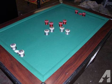 bumper pool table for sale rare valley couger bumper pool table for sale in marion