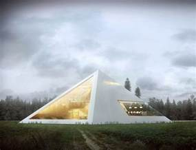 pictures pyramid home plans modern pyramid house by juan carlos ramos my modern met