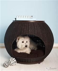 Panier Chien Design : panier igloo osier chien ~ Teatrodelosmanantiales.com Idées de Décoration