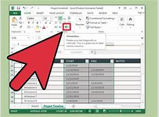 In Excel eine Zeitachse erstellen – wikiHow