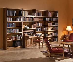 Store your fantasies and reality in wooden bookshelf ...