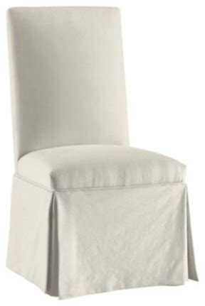 parsons chair monogrammed slipcover traditional dining chairs by ballard designs