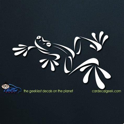 tree frog amphibian car decal sticker graphic