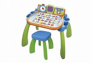 Schreibtisch Hocker Kinder : vtech magischer schreibtisch mit hocker und led bildschirm ~ Lizthompson.info Haus und Dekorationen