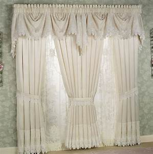 White lace curtains for bedroom home design ideas for White lace bedroom curtains