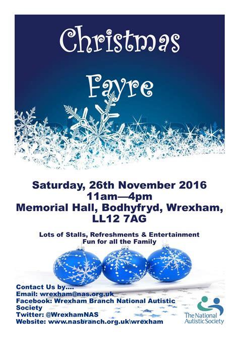 Christmas Fayre And Grotto Wrexhamcom
