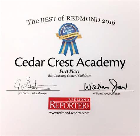 redmond campus redmond oct cedar crest academy