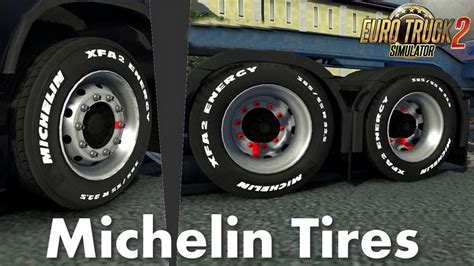 michelin tires   trucks   ets mods