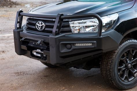 a toyota new toyota hilux receives a plethora of rugged accessories
