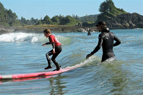 Vancouver Island Family Surf Lessons In Tofino