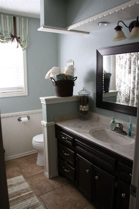 half walls bathrooms amazing bathroom interior