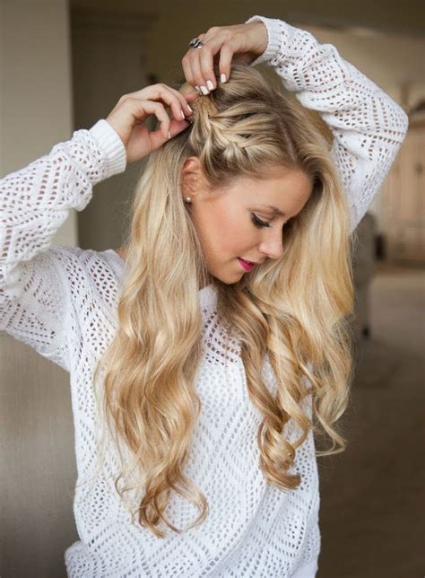gorgeous party perfect braided hairstyles side braid