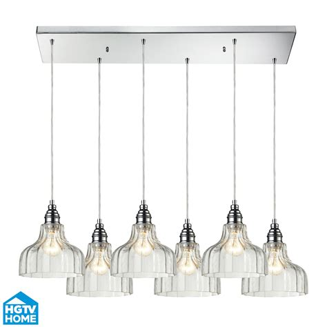 elk lighting 46018 6rc danica 6 light multi pendant