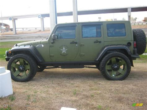 jeep unlimited green 2007 jeep green metallic jeep wrangler unlimited rubicon