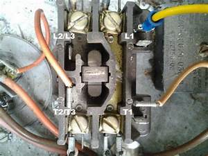 Replacing A  C Contactor