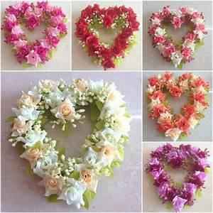 pas cher livraison gratuite soie fleurs fausses fleurs With chambre bébé design avec coeur fleurs artificielles