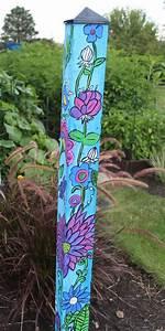 Garden, Totems, Garden-totems, Yard, Art, Bird, Feeders, Recycled, Garden, Glass, Garden, F