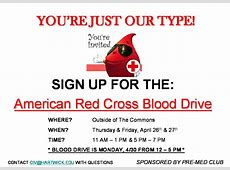 Sign Up for Final Blood Drive of the Year