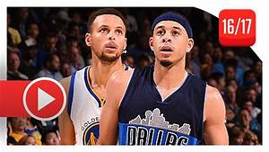 Stephen Curry vs Seth Curry BROTHERS Duel Highlights (2016 ...