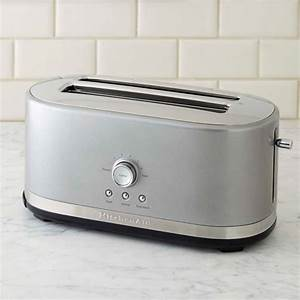 Kitchen Aid Toaster : kitchenaid 4 slice long toaster williams sonoma ~ Yasmunasinghe.com Haus und Dekorationen