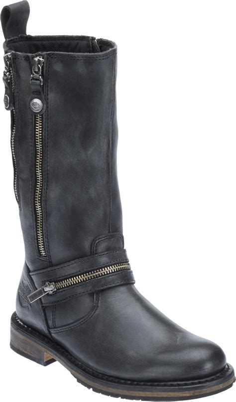 motorcycle boots harley davidson women 39 s sackett 10 75 in leather