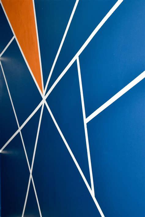 diy geometric wall design   craft   day