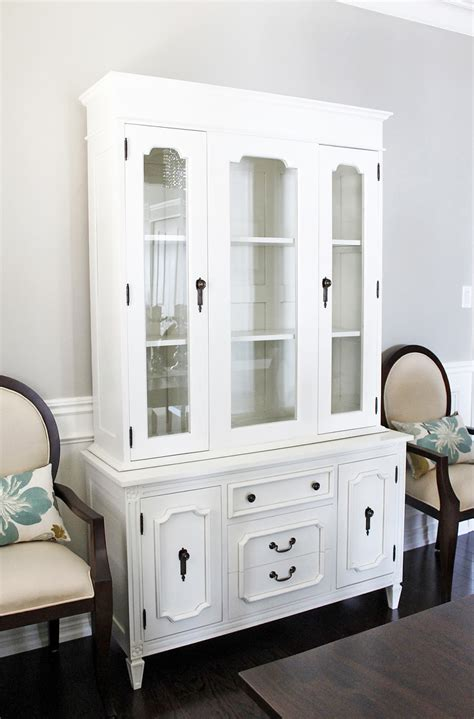 dolce vita dining room hutch buffet reveal