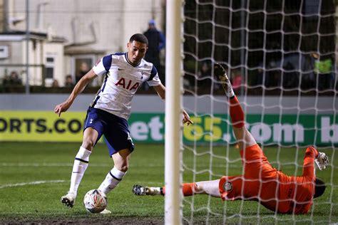 Marine AFC 0 - 5 Tottenham Hotspur: Vinicius hat trick ...