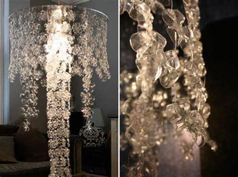 recycled water bottle chandelier diy a water bottle chandelier gearfuse
