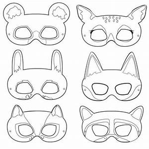 25 best ideas about animal masks on pinterest paper With woodland animal mask templates
