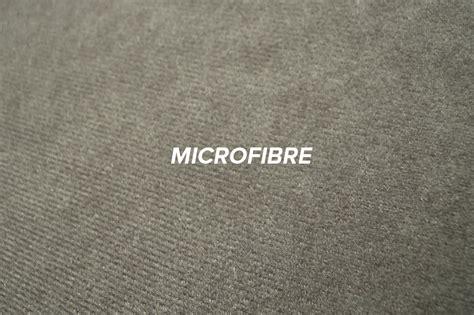 canapé lit haut de gamme quelle est la différence entre la micro fibre et le tissu