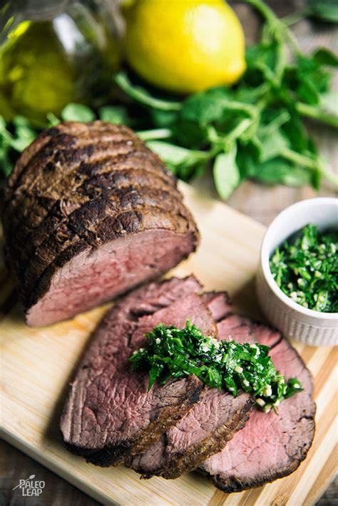 Sprinkle with 2 tablespoons cracked. Balsamic Dijon-Glazed Beef Tenderloin With Herb Sauce | Paleo Leap